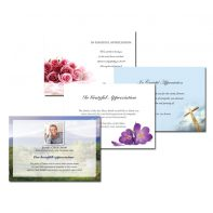 Acknowledgement Cards - A7