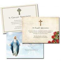 Acknowledgement Cards - A6